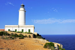 Far de la Mola in Formentera Stock Images
