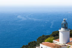 Far de Sant Sebastia - Costa Brava Stock Photography