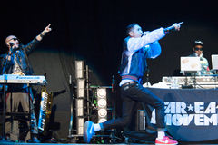 Far East Movement Royalty Free Stock Photography