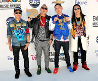 Far East Movement arrives at the 2012 Billboard Awards Royalty Free Stock Photo