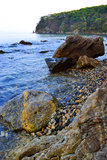 Far East, Russia, sea landscape Stock Photography
