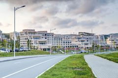 Far Eastern Federal University. Vladivostok, Russia Stock Photos