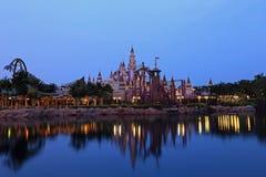Far Far Away Castle At Universal Studios, Singapore Royalty Free Stock Photography