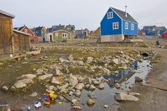 Far north, Ittoqqortoormiit Stock Images