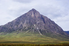 Far Photo of a Mountain during Daytime Stock Images
