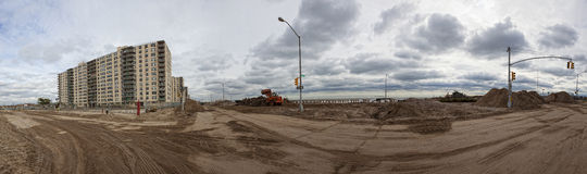 Far Rockaway NY after hurricane Sandy Royalty Free Stock Image