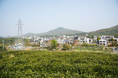 Far see Huanglongxian Village Royalty Free Stock Photo