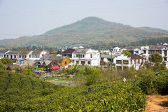 Far see Huanglongxian Village Stock Images