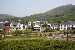 Far see Huanglongxian Village Stock Photo