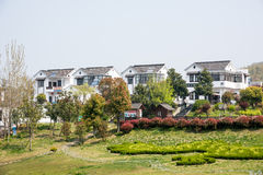 Far see Huanglongxian Village Royalty Free Stock Image