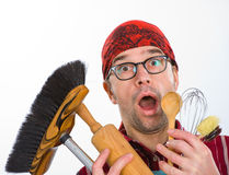 Far too much housework Stock Photos