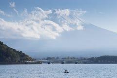 Far view of Fuji mountain in Japan Royalty Free Stock Photo