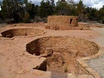 Far View House—Mesa Verde. Ruins of Far View House in Mesa Verde National Park, Colorado Royalty Free Stock Image