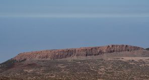 Far view from the mountain by tenerife stock photo
