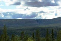 Far View On Njupeskaer Stock Photos