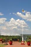 Far view toward Victoria Falls,Zimbabwe Royalty Free Stock Photo