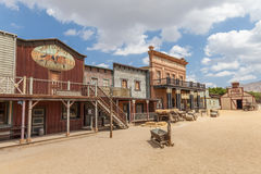 Far West Royalty Free Stock Photo
