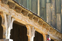 Far west porch Royalty Free Stock Images