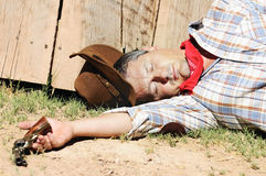 Far west story Stock Images