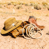 Far west style Stock Images