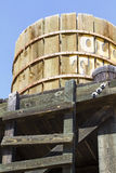 Far west water tank Royalty Free Stock Image