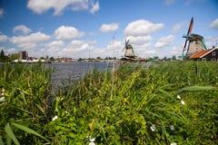 Far windmills Royalty Free Stock Photo