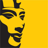 Faraó Akhenaten Fotografia de Stock