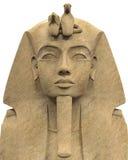 Faraó de pedra Tutankhamen ilustração do vetor
