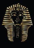Faraón de oro  Imágenes de archivo libres de regalías
