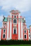 Fara Poznanska baroque church in Poznan Stock Photo