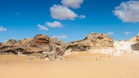 Farafra绿洲在埃及 免版税库存图片