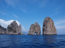 Faraglioni, Capri, Italie Photographie stock