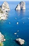 Faraglioni di Capri Royalty Free Stock Image