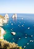 Faraglioni di Capri Stock Photos
