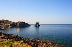 Faraglioni , Pantelleria Stock Photo