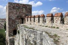 Faragment of wall of Yedikule Fortress Stock Photography