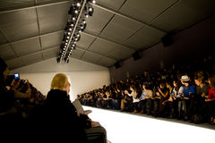 Farah Angsana Tent at NYC Fashion Week Fall 2011 Stock Photography