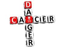 farakorsord för cancer 3D stock illustrationer