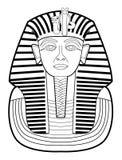 Farao royaltyfri illustrationer