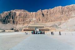 FaraoHatshepsut tempel, Egypten royaltyfri bild