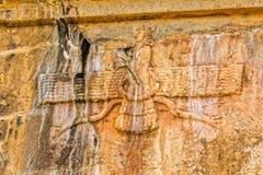 Faravahar Persepolis symbol Royalty Free Stock Images