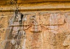 Faravahar Persepolis symbol Royalty Free Stock Photography