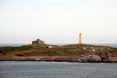 Faraway lighthouse Royalty Free Stock Photo