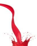 Farb barwioni pluśnięcia Zdjęcie Stock