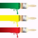 Farb muśnięcia Obraz Royalty Free