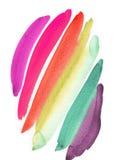 farb uderzenia Fotografia Royalty Free