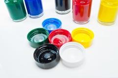 Farba. obrazy stock
