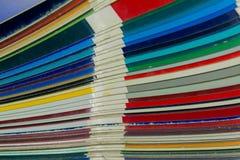 Farba katalog ilustracja wektor