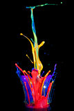 farba mówca Obrazy Stock