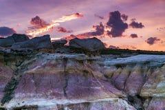 Farba minuje interpretive parkowe Colorado wiosny obrazy royalty free